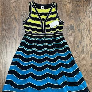 NWT Missoni Deep V Knit Dress